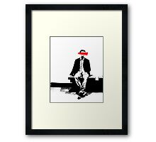 Person X Framed Print