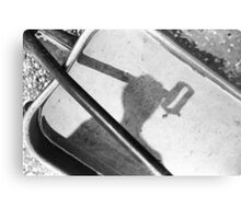 Mystery Person Metal Print