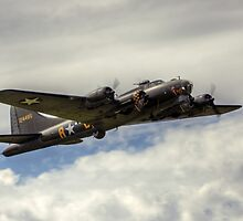 The B17 Flying Fortress by Shane Ransom