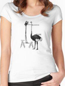 Instrvmen Women's Fitted Scoop T-Shirt