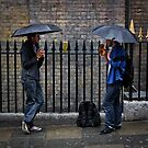Pissing it Down - London by Abtin Eshraghi