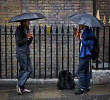 Pissing it Down - London by Abtin Eshraghi