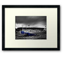 Murrayfield Stadium, Edinburgh, Scotland Selective Colouring Framed Print