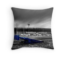 Murrayfield Stadium, Edinburgh, Scotland Selective Colouring Throw Pillow