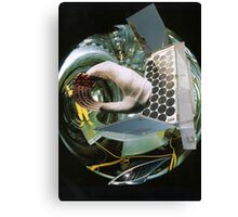 Split Second Thought of a Futurist. Canvas Print