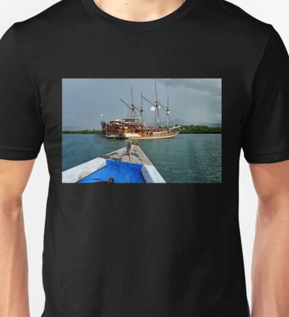Thar Be Pirates ! Unisex T-Shirt