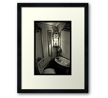 Telephone Room - Villa Vizcaya, Miami, FL Framed Print