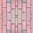 Brick Abstract by Judi FitzPatrick