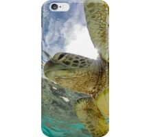 Hopeful turtle iPhone Case/Skin