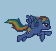 Rainbow Dash Minecraft by xBfmVxReapeRx