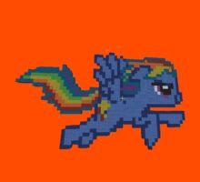 Rainbow Dash Minecraft Kids Clothes