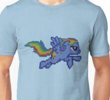 Rainbow Dash Minecraft Unisex T-Shirt