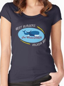 Two Whales Diner Shirt - Life is Strange Women's Fitted Scoop T-Shirt