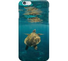 Turtle rising iPhone Case/Skin