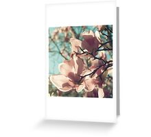already blooming Greeting Card
