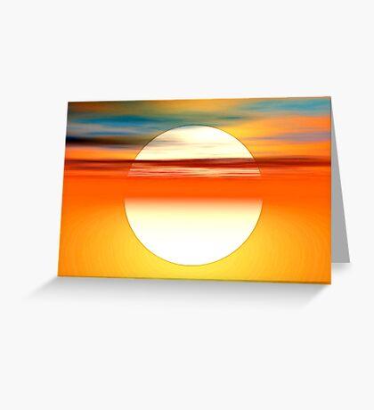 Nada como el sol Greeting Card