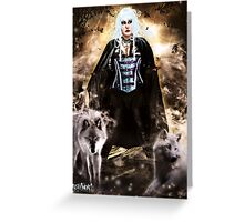 Follow the Wolves Greeting Card