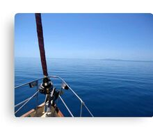 Red Boomer II - BECALMED Canvas Print