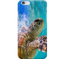 Determined turtle iPhone Case/Skin