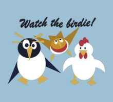 Watch the birdie! Kids Tee