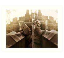 Timeless Moments - Diptych Art Print