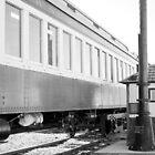 Railroad Car by Lynn McCann