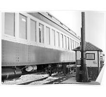Railroad Car Poster