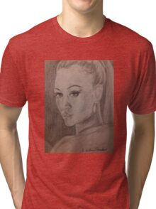 Uhura, Who's Name Means Freedom Tri-blend T-Shirt