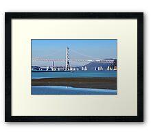 Sailing San Francisco Bay Framed Print