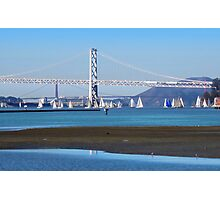 Sailing San Francisco Bay Photographic Print