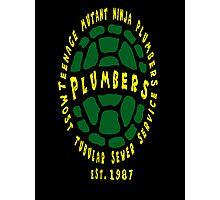 Teenage Mutant Ninja Plumbers Photographic Print