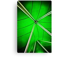 abstract of green Canvas Print