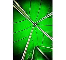 abstract of green Photographic Print