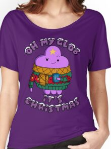 Lumpy Space Princess - Oh My Glob It's Christmas Women's Relaxed Fit T-Shirt