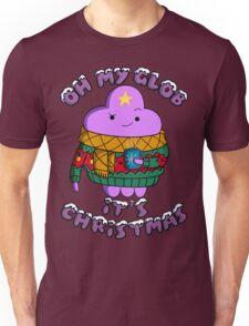 Lumpy Space Princess - Oh My Glob It's Christmas Unisex T-Shirt