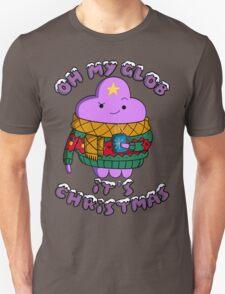 Lumpy Space Princess - Oh My Glob It's Christmas T-Shirt