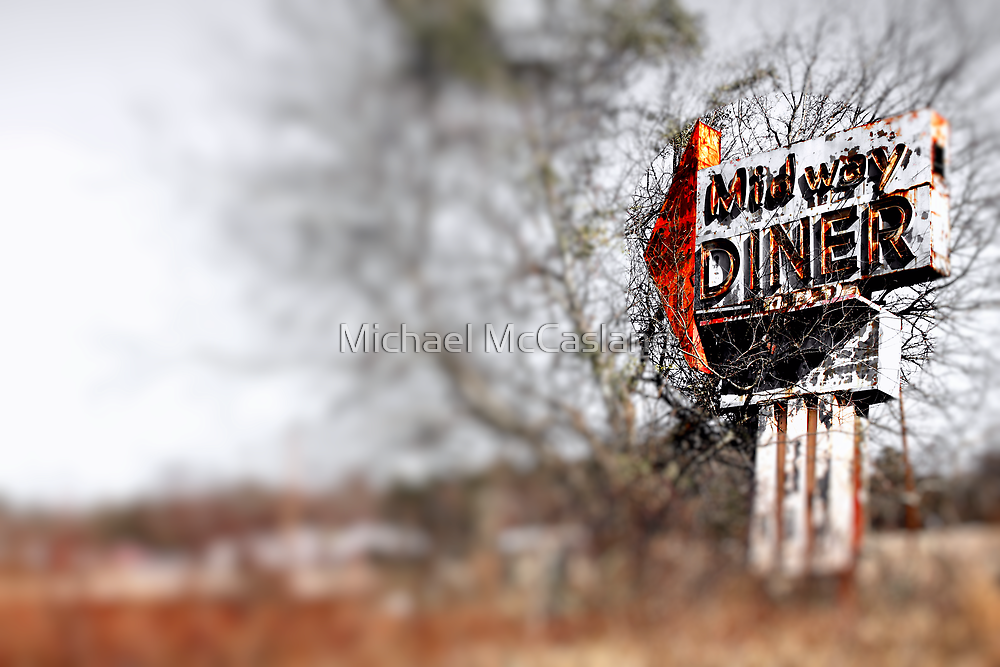 Midway Diner by Michael McCasland