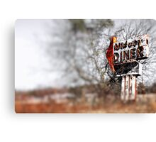 Midway Diner Canvas Print