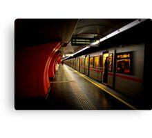 The Viennese Metro Canvas Print