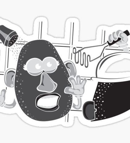 Psycho Potato Sticker