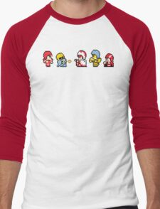 Final Fantasy Football Men's Baseball ¾ T-Shirt