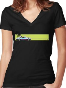 Surf 911e  Women's Fitted V-Neck T-Shirt
