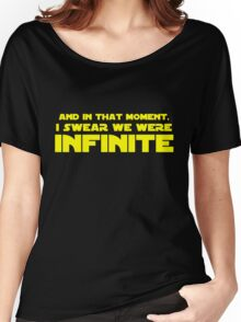 INFINITE WALLFLOWER Women's Relaxed Fit T-Shirt