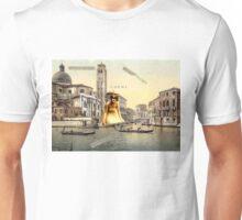 Music Follows You Into Fantasy, Cheri. (Surrealist Collage) Unisex T-Shirt