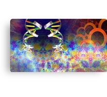 Genetic Spin Canvas Print