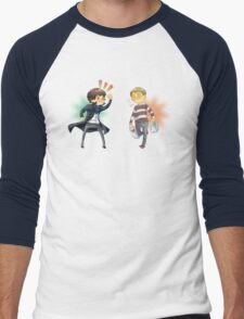 The Worlds Cutest Consulting Detective Men's Baseball ¾ T-Shirt