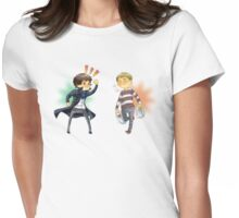 The Worlds Cutest Consulting Detective Womens Fitted T-Shirt