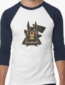 The Electric Mouse Rises Men's Baseball ¾ T-Shirt