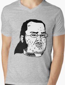 TROLL FREAK Mens V-Neck T-Shirt