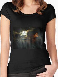Spirit Portal Women's Fitted Scoop T-Shirt